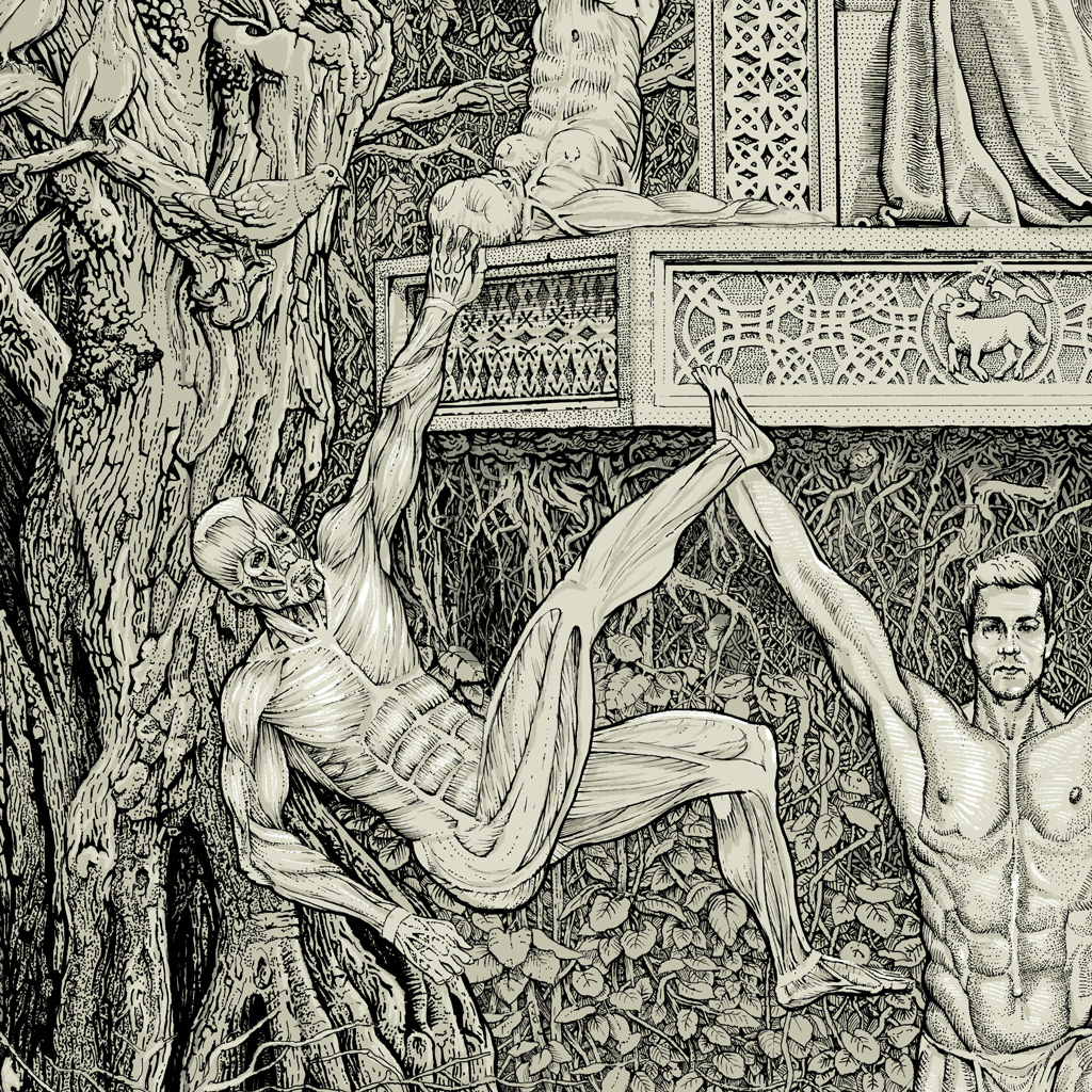Ink_Drawing_Birth_Of_Humanity_Simon_Hildwein